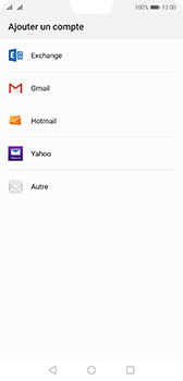 Huawei P20 - Android Pie - E-mail - 032c. Email wizard - Outlook - Étape 4