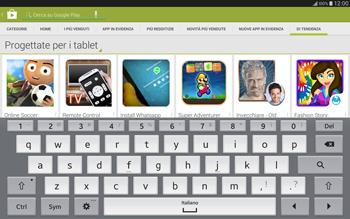 Samsung T805 Galaxy Tab S - Applicazioni - Installazione delle applicazioni - Fase 14