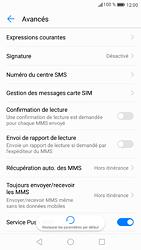 Huawei P9 - Android Nougat - SMS - Configuration manuelle - Étape 9
