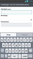 LG P760 Optimus L9 - e-mail - handmatig instellen - stap 9