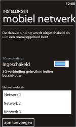 Nokia Lumia 900 - netwerk en bereik - gebruik in binnen- en buitenland - stap 9