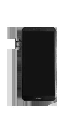 Huawei Y6 (2018) - Premiers pas - Insérer la carte SIM - Étape 3