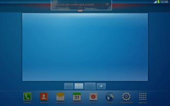 Samsung Galaxy Tab 3 10-1 LTE - Operazioni iniziali - Installazione di widget e applicazioni nella schermata iniziale - Fase 10