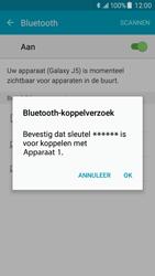 Samsung Galaxy J5 (J500F) - bluetooth - headset, carkit verbinding - stap 7