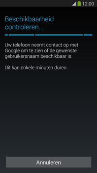 Samsung N9005 Galaxy Note III LTE - Applicaties - Account aanmaken - Stap 9