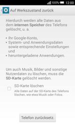 Alcatel Pop S3 - Fehlerbehebung - Handy zurücksetzen - 8 / 11