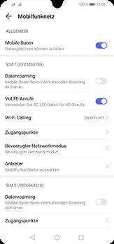 Huawei P30 Lite - Internet und Datenroaming - Manuelle Konfiguration - Schritt 5