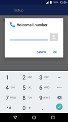 Crosscall Action X3 - Voicemail - Manual configuration - Step 12