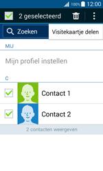 Samsung G388F Galaxy Xcover 3 - Contactgegevens overzetten - delen via Bluetooth - Stap 8