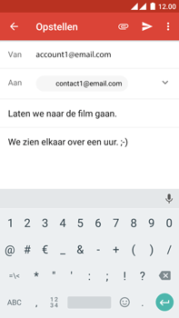 OnePlus 2 - e-mail - hoe te versturen - stap 9