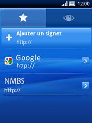 Sony Xperia X10 Mini Pro - Internet - Navigation sur Internet - Étape 15