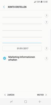 Samsung Galaxy S8 - Datenschutz und Sicherheit - Samsung einrichten - 13 / 18