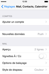 Apple iPhone 4 S - iOS 8 - E-mail - Configuration manuelle - Étape 4