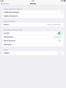 Apple iPad mini 2 - iOS 8 - E-mail - configurazione manuale - Fase 21
