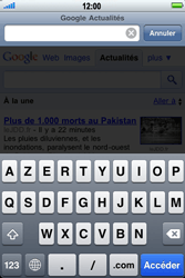 Apple iPhone 3G S - Internet - navigation sur Internet - Étape 9