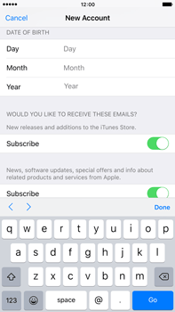 Apple iPhone 6 Plus iOS 9 - Applications - Setting up the application store - Step 15