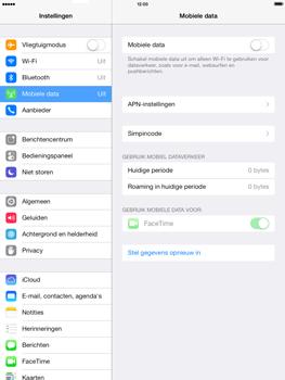 Apple iPad mini met iOS 7 - Internet - Handmatig instellen - Stap 3