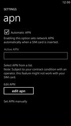 Samsung I8750 Ativ S - Internet - Manual configuration - Step 5