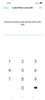 Oppo A72 - Sécuriser votre mobile - Personnaliser le code PIN de votre carte SIM - Étape 11