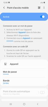 Samsung Galaxy Note20 - Internet et connexion - Partager votre connexion en Wi-Fi - Étape 12