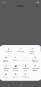 Samsung Galaxy Note 10 - Internet e roaming dati - Configurazione manuale - Fase 25