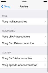 Apple iPhone 4 iOS 7 - E-mail - Account instellen (POP3 zonder SMTP-verificatie) - Stap 6