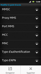 Sony MT27i Xperia Sola - Internet - Configuration manuelle - Étape 14