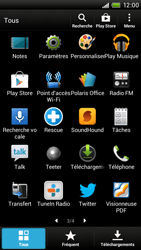 HTC One X Plus - Réseau - Sélection manuelle du réseau - Étape 4