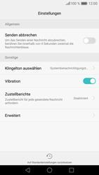 Huawei P9 - SMS - Manuelle Konfiguration - Schritt 6