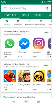 Sony Xperia XZ2 - Android Pie - Apps - Herunterladen - Schritt 5