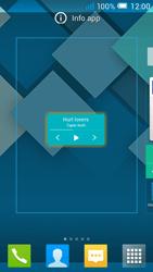 Alcatel Pop C7 - Operazioni iniziali - Installazione di widget e applicazioni nella schermata iniziale - Fase 5