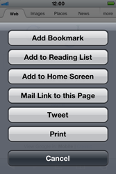 Apple iPhone 4 S - Internet - Internet browsing - Step 5