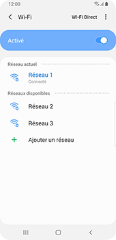 Samsung Galaxy S9 Android Pie - Wifi - configuration manuelle - Étape 8