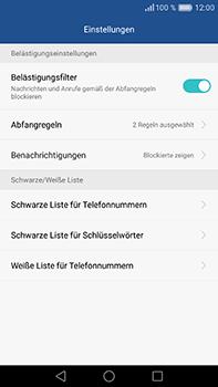 Huawei P9 Plus - Anrufe - Anrufe blockieren - Schritt 7