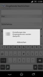 Sony Xperia Z3 Compact - E-Mail - Konto einrichten - 1 / 1