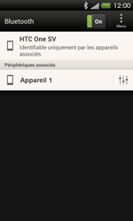 HTC One SV - Bluetooth - Jumelage d