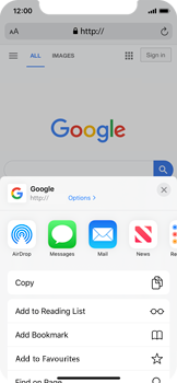 Apple iPhone 11 Pro - Internet - Internet browsing - Step 5