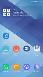 Samsung Galaxy A5 (2017) - Android Nougat - Startanleitung - Installieren von Widgets und Apps auf der Startseite - Schritt 3