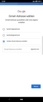 Sony Xperia 10 Plus - Apps - Konto anlegen und einrichten - Schritt 11