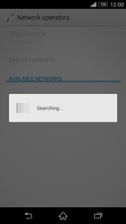 Sony Xperia Z3 Compact - Network - Manual network selection - Step 7