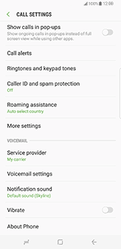 Samsung Galaxy S8 Plus - Voicemail - Manual configuration - Step 6