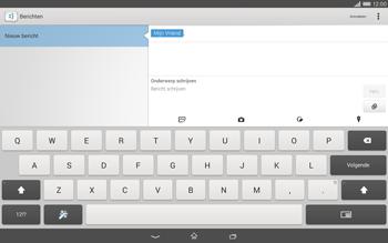 Sony Xperia Tablet Z2 (SGP521) - MMS - afbeeldingen verzenden - Stap 11