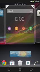 Sony Xperia Z - Startanleitung - Installieren von Widgets und Apps auf der Startseite - Schritt 5