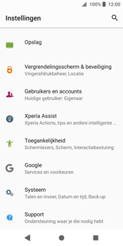 Sony Xperia XZ2 - Toestel - Software update - Stap 5