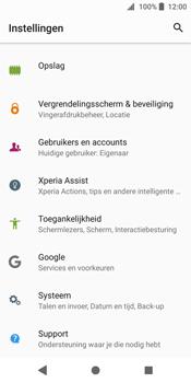 Sony Xperia XZ2 - software - update installeren zonder pc - stap 4