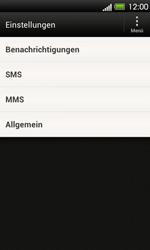 HTC One V - SMS - Manuelle Konfiguration - 2 / 2