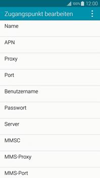Samsung N910F Galaxy Note 4 - Internet - Manuelle Konfiguration - Schritt 11