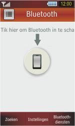 Samsung S5230 Star - bluetooth - headset, carkit verbinding - stap 5