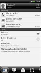 HTC Z715e Sensation XE - contacten, foto