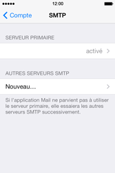 Apple iPhone 4 S iOS 7 - E-mail - Configuration manuelle - Étape 19